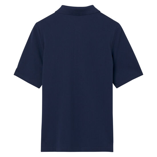 Polo en coton piqué à manches courtes rallongées Original