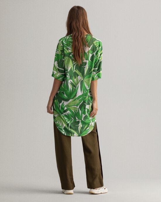 Tuniek met Palm Breeze-print