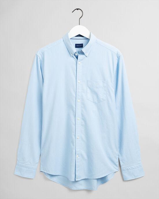 Regular Fit hemd met textuur