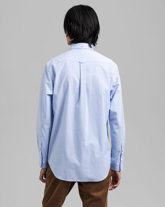 Regular Fit hemd van poplin