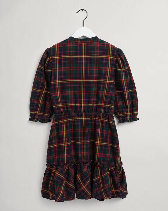 Robe en flanelle écossaise Teen Girls